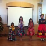 子供とフラダンス