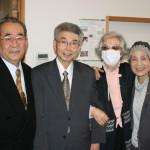 斉藤先生ご夫妻と山中先生ご夫妻