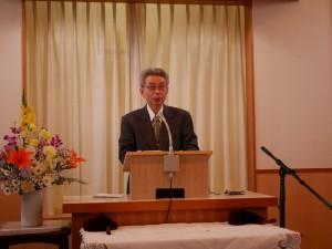斎籐先生退任記念礼拝