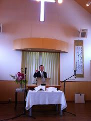 主の晩餐式岩橋牧師