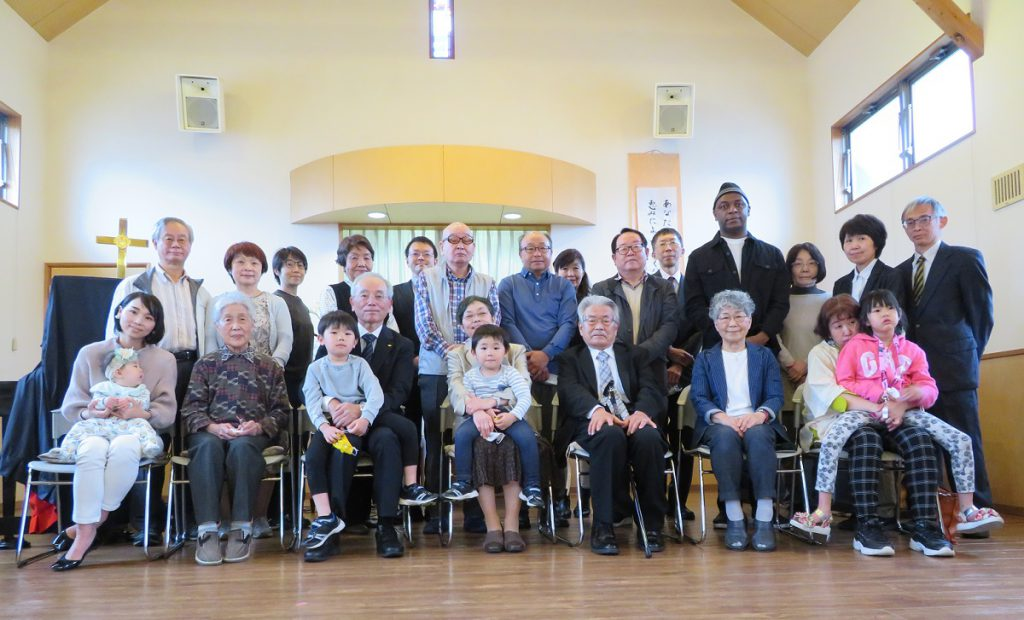 伝道開始20周年記念礼拝